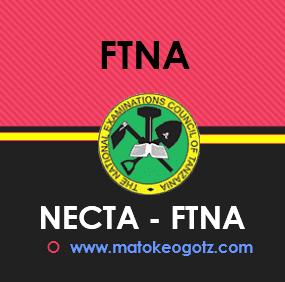 NECTA Form Two 2019